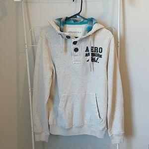 Cream AERO hoodie